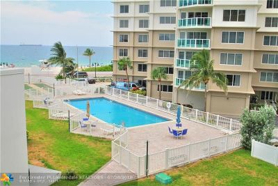 Fort Lauderdale Condo/Townhouse For Sale: 1200 N Fort Lauderdale Beach Blvd #303