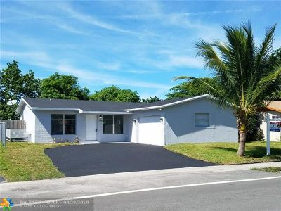 North Lauderdale Single Family Home For Sale: 7701 Kimberly Blvd