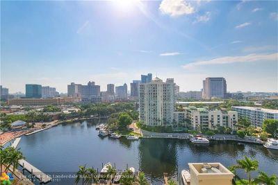 Fort Lauderdale Condo/Townhouse For Sale: 610 W Las Olas Blvd #1318N
