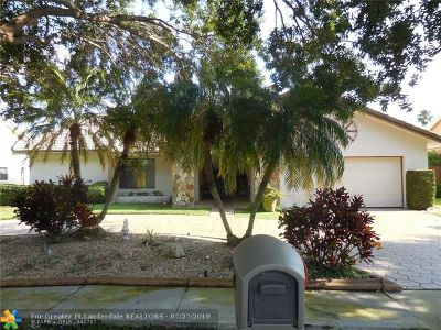 Plantation Single Family Home For Sale: 10081 NW 13th St