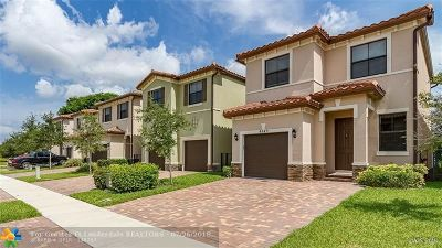 Tamarac Single Family Home Backup Contract-Call LA: 4849 NW 57th Ct
