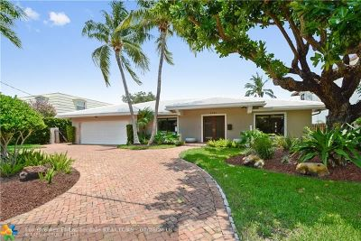 Fort Lauderdale Single Family Home For Sale: 3041 NE 45th St