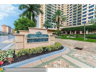 Hollywood Condo/Townhouse For Sale: 2501 S Ocean Dr #1532