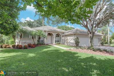 Coral Springs Single Family Home For Sale: 6113 NW 53rd Cir