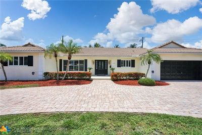 Fort Lauderdale Single Family Home For Sale: 2800 NE 40th Ct