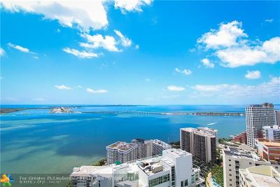 Miami Condo/Townhouse For Sale: 1300 Brickell Bay Dr #3902