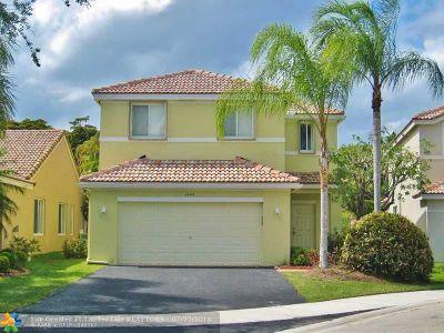 Weston Single Family Home Backup Contract-Call LA: 1444 Sabal Trl