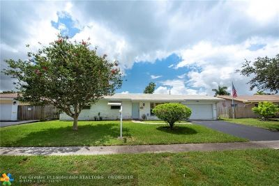 Plantation Single Family Home For Sale: 7200 NW 10th Pl