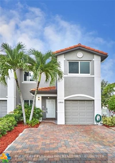 Miramar Condo/Townhouse Backup Contract-Call LA: 12801 SW 28th Ct #12801