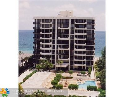 Pompano Beach Condo/Townhouse For Sale: 1300 S Ocean Blvd #404