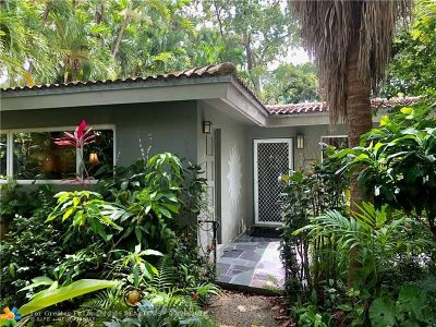 Wilton Manors Single Family Home Backup Contract-Call LA: 716 NW 22nd St