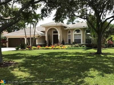 Parkland Single Family Home For Sale: 10306 NW 62nd Dr