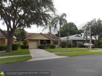 Coconut Creek Single Family Home For Sale: 2679 Blue Sage Ave