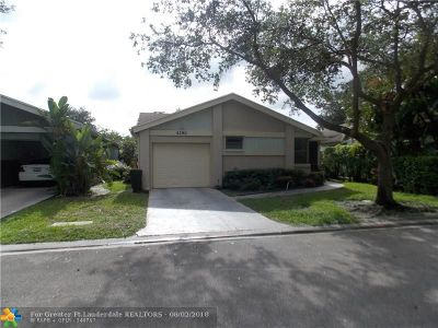 Coconut Creek Single Family Home For Sale: 4281 Acacia Cir