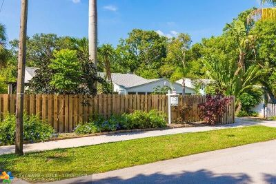 Fort Lauderdale Single Family Home For Sale: 916 SW 18th St