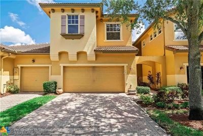 Coral Springs Condo/Townhouse For Sale: 11951 NW 57th Mnr #11951