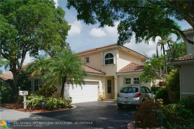 Coconut Creek Single Family Home For Sale: 4719 NW 7th Mnr