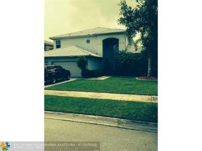 Coral Springs Rental For Rent: 10826 NW 56th Ct
