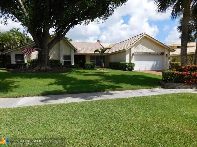 Deerfield Beach Single Family Home For Sale: 2549 Lakes Dr