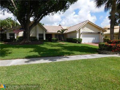 Deerfield Beach Single Family Home For Sale: 2549 Deer Creek Lakes Dr