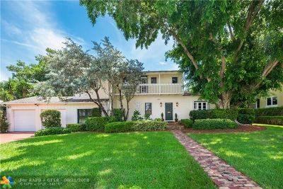 Fort Lauderdale Single Family Home For Sale: 528 Riviera Drive