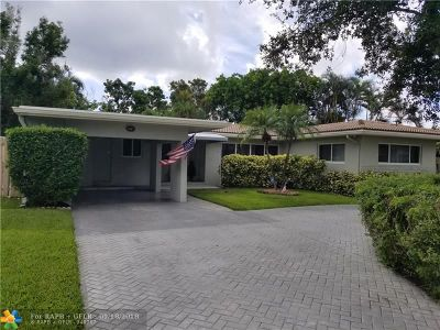 Pompano Beach Single Family Home For Sale: 708 NE 24th Ave