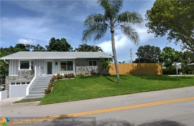 Dania Beach Single Family Home For Sale: 4490 SW 24th Ave