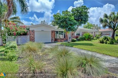 Pompano Beach Single Family Home For Sale: 1860 NE 27th Ave