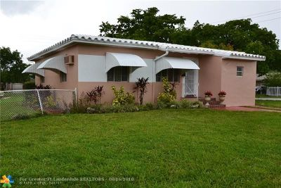 North Miami Single Family Home For Sale: 1090 NW 135th St