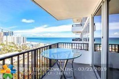 Pompano Beach Condo/Townhouse For Sale: 531 N Ocean Blvd #1405