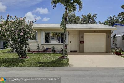 Margate Single Family Home For Sale: 1010 NW 69th Ave