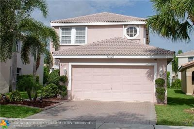 Coral Springs Single Family Home For Sale: 5328 NW 116th Ave