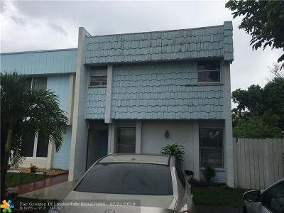North Lauderdale Condo/Townhouse Backup Contract-Call LA: 8001 SW 7th Pl #B