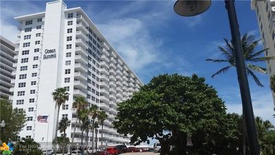 Fort Lauderdale Condo/Townhouse For Sale: 4010 Galt Ocean Dr #1102