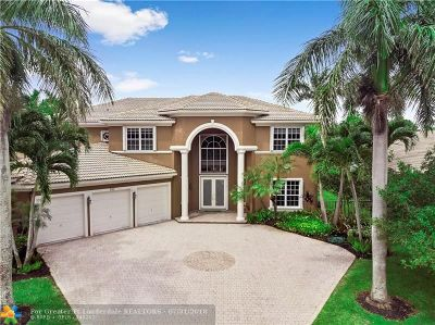 Coral Springs FL Single Family Home For Sale: $739,999