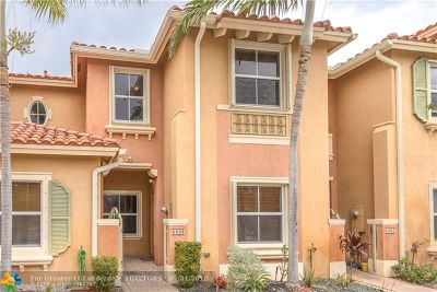 Hollywood Condo/Townhouse For Sale: 5809 Siena Ln