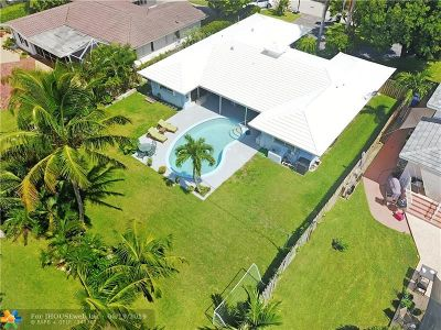 Lauderdale By The Sea Single Family Home For Sale: 268 Codrington Dr