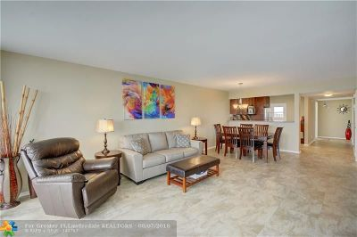 Pompano Beach Condo/Townhouse For Sale: 3051 N Course Dr #912