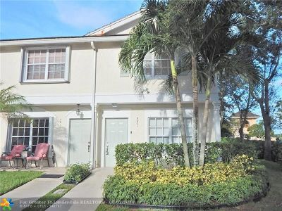 Coral Springs Condo/Townhouse Backup Contract-Call LA: 5601 NW 98th Way #229