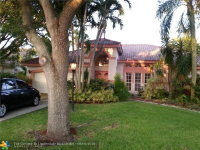 Coral Springs Single Family Home For Sale: 4755 Rothschild Dr