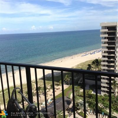 Lauderdale By The Sea Condo/Townhouse For Sale: 5000 N Ocean Blvd #1607