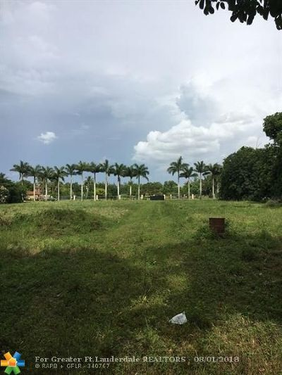 Miramar Residential Lots & Land Backup Contract-Call LA: 4250 SW 137th Ave