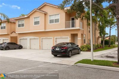 Margate Condo/Townhouse Backup Contract-Call LA: 2907 Crestwood Ter #2907