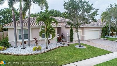 Pembroke Pines Single Family Home For Sale: 18701 SW 7th St