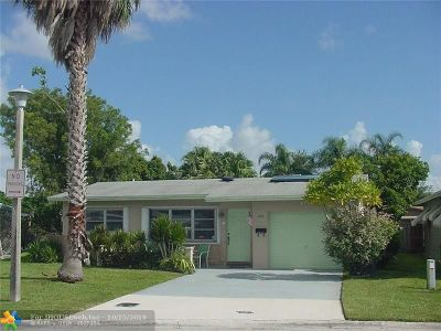 Margate Single Family Home Backup Contract-Call LA: 6895 NW 11 Ct
