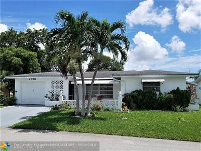 Tamarac Single Family Home For Sale: 4723 NW 49th Dr