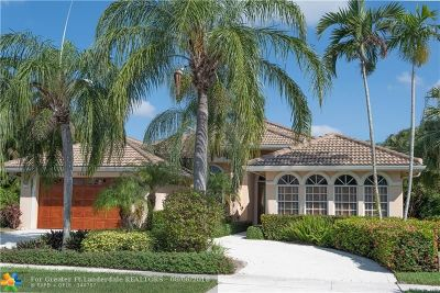 Boca Raton Single Family Home For Sale: 7581 La Corniche Cir