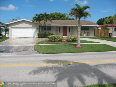 Coconut Creek Single Family Home For Sale: 610 NW 45th Ave