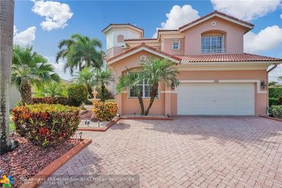Coral Springs Single Family Home For Sale: 4869 NW 124th Way