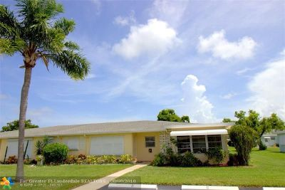 Delray Beach Condo/Townhouse For Sale: 210 High Point Ct #D
